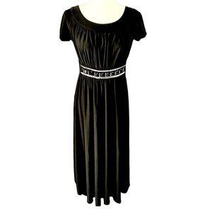Hanni black embellished dress S